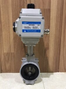 Electric Actuator with Kitz